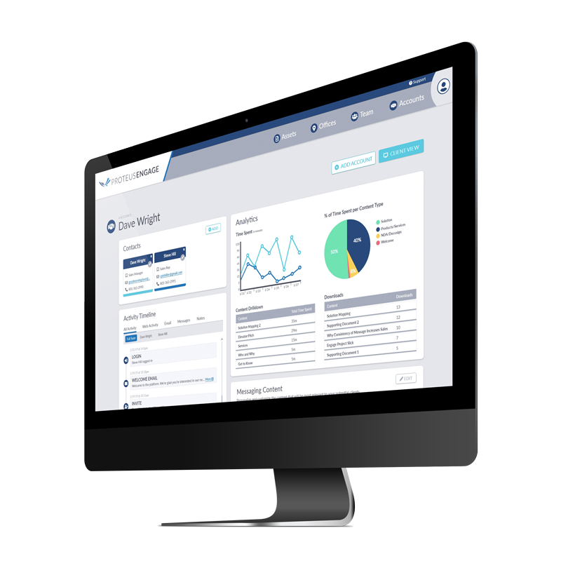 Proteus Engage - Visibility and Analytics for Insights
